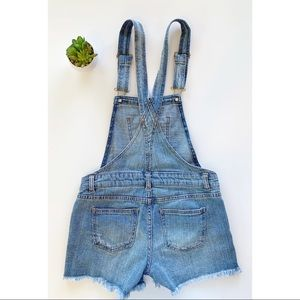 Vanilla Star | Denim overall shorts Sz M